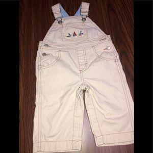 BABY BOY GYMBOREE OVERALL SZ6-12 MO-#0187-052019TR
